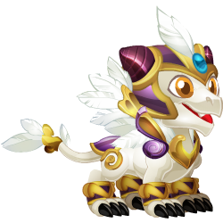 Appearance of Hope Dragon when baby