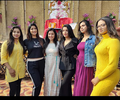 Kallu Ki Dulhaniya Bhojpuri Movie shooting