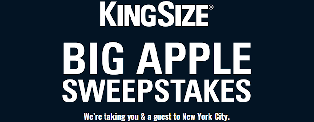 King Size Direct, the big and tall men's experts wants you to enter once for a chance to win an all expenses paid trip to New York City!