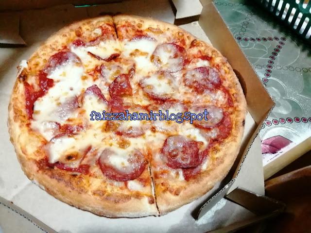 Kunyah Kunyah Petang ~ Domino's Pizza