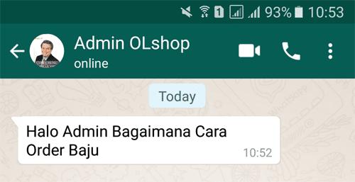 Chat Admin OL Shop