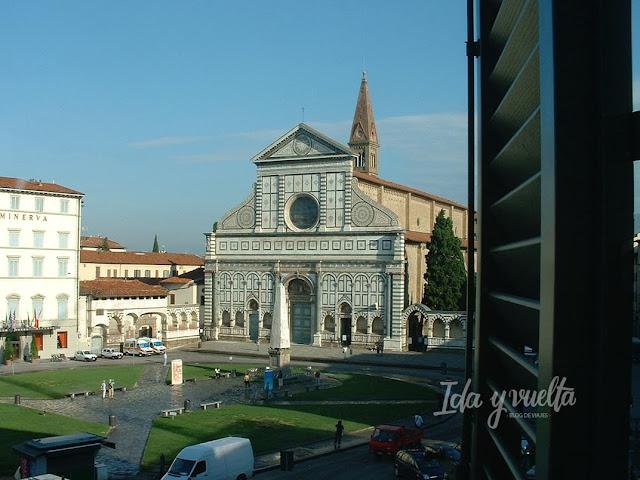 Habitación con vistas Hotel Santa Maria Novella, Florencia