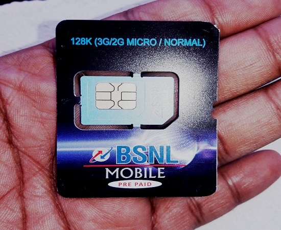 BSNL slashed SIM price for its prepaid and postpaid mobile customers in all the circles, Now get BSNL Nano SIM card @ just Rs 10/-