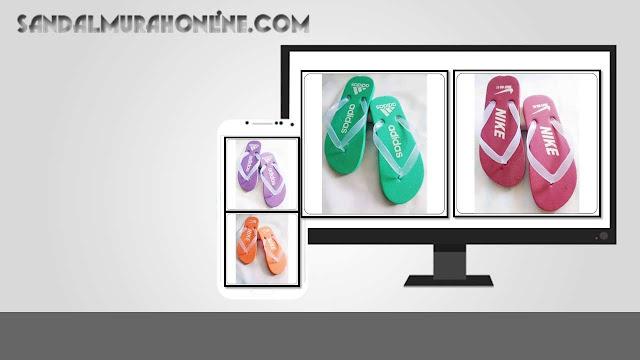 Sandal Jepit MURAH Spon Pria | Bisnis Usaha Sandal Murah