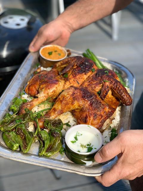 kurczak, grill, obiad, drob, bernika, kulinarny pamietnik, indie