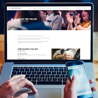 Traders Point Christian Church Website Design