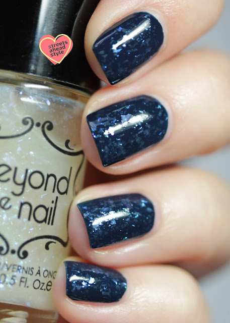Beyond the Nail Blue Lady swatch by Streets Ahead Style