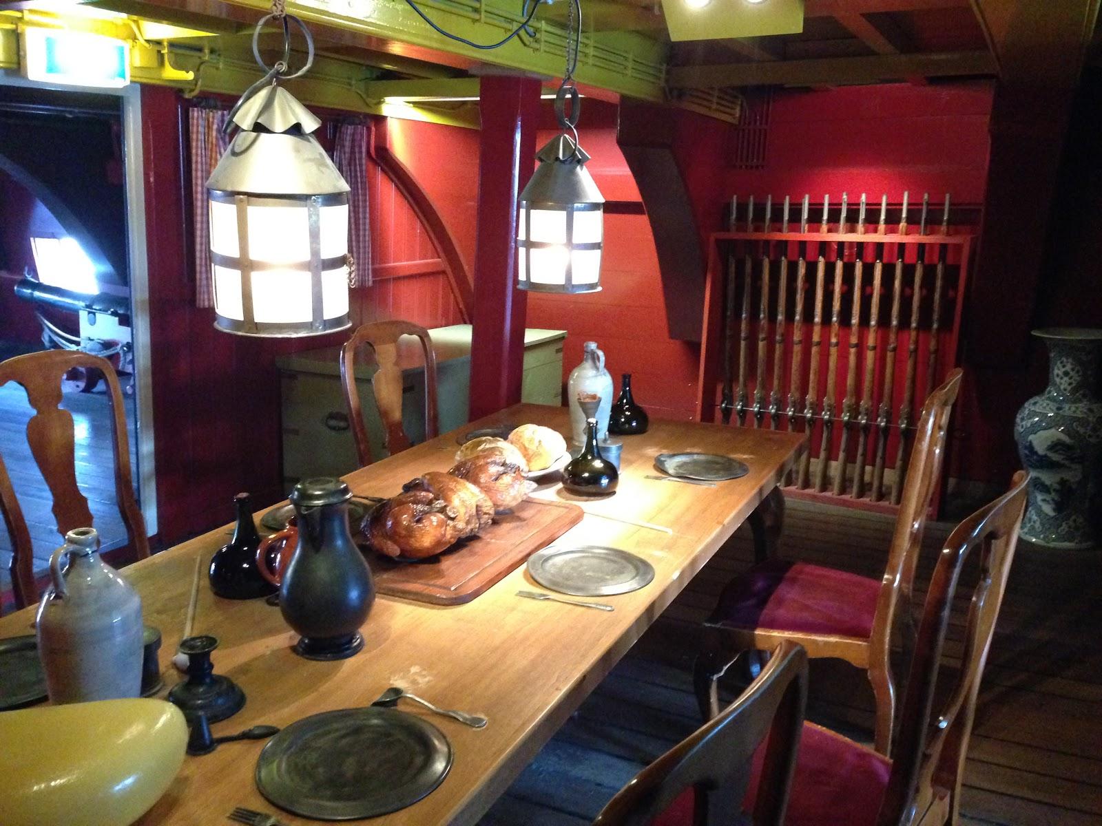 Inside the VOC Ship