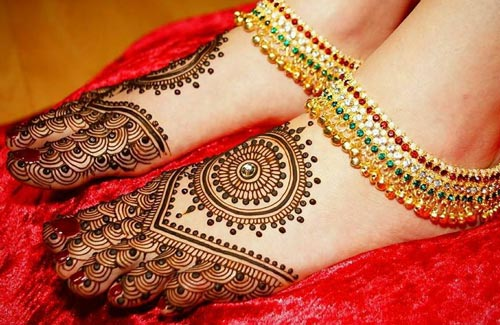 Top 10 Wedding Mehndi Design For Legs Dulhan Hd Photos New Henna