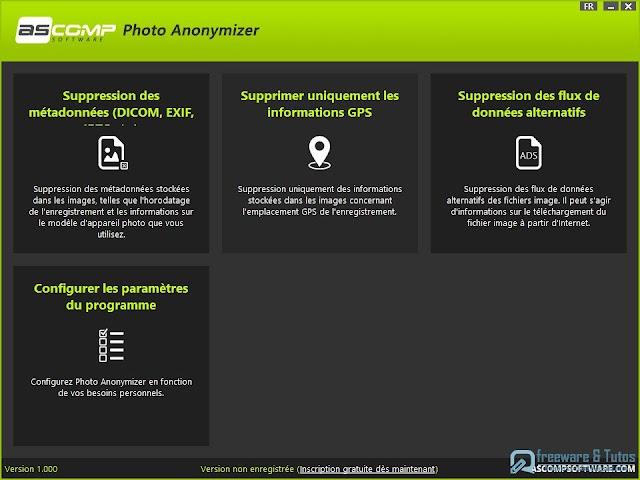 Photo Anonymizer : le logiciel pour supprimer les métadonnées des photos maintenant en français !
