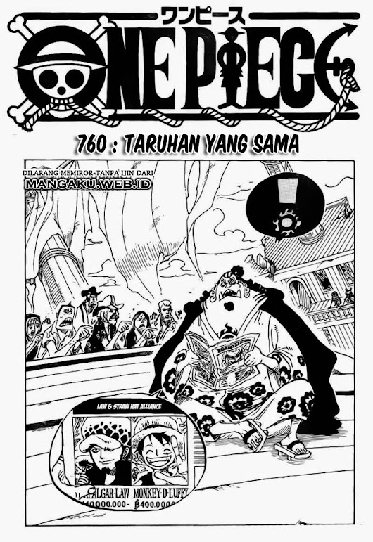 Baca Manga Terbaru Online: Manga One Piece Chapter 760 Bahasa Indonesia