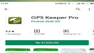GPS keeper pro