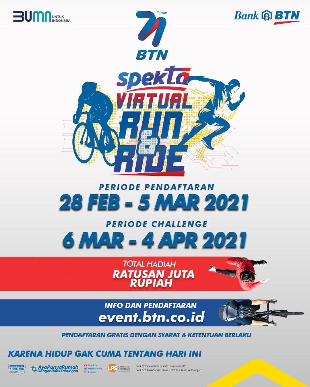 BTN Spekta Virtual Run & Ride • 2021