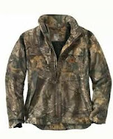 Carhartt Quick Duck Camo Jacket Coat Rain Defender Size XL