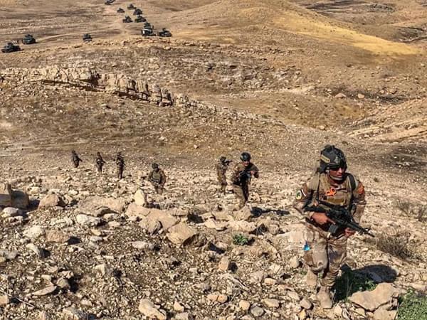 لە ئۆپەراسیۆنێکی دژە تیرۆری عێراق لە چیای قەرەچووغ ١٠ چەکداری داعش کوژران