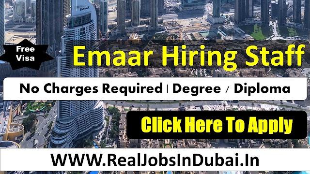 Emaar Group Jobs Vacancy In Dubia -  UAE 2020
