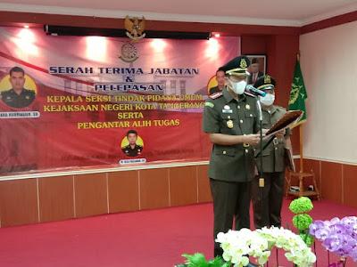 Kepala Seksi Tindak Pidana Umum Kejari Kota Tangerang Diganti,Korantangsel.com