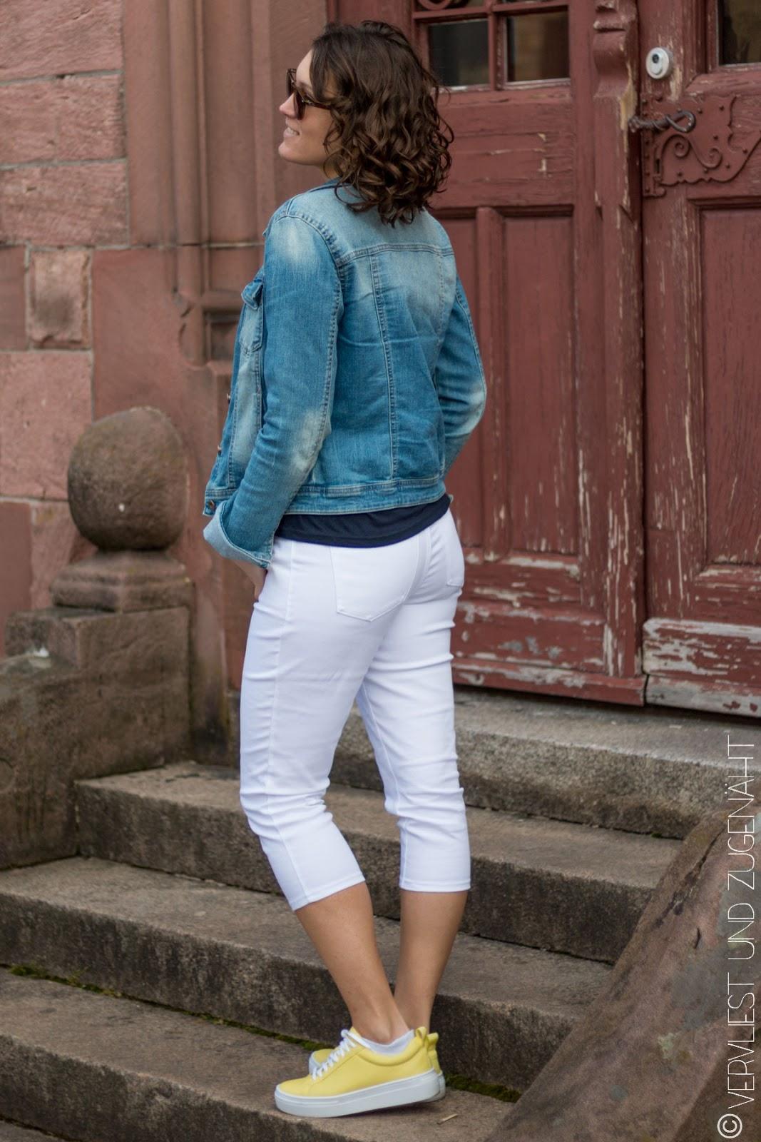 Hose ohne was drunter weiße Was zieht