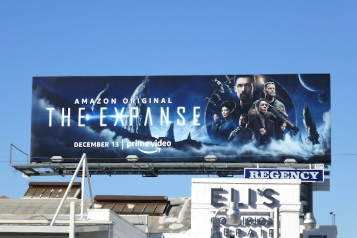 Expanse season 4 Amazon billboard