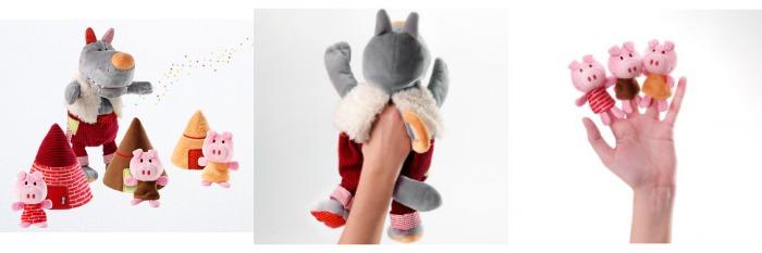 marionetas dedo Lilliputiens juguetes niños