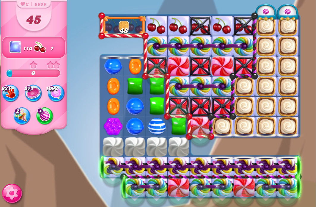 Candy Crush Saga level 8959