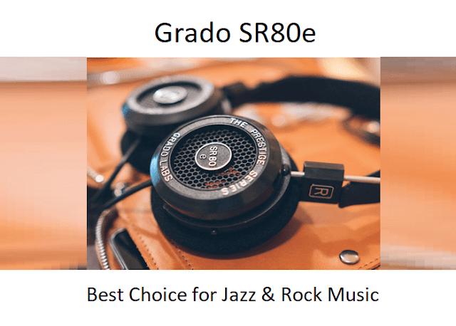 Grado SR80e - Best Wireless Headphones to Buy
