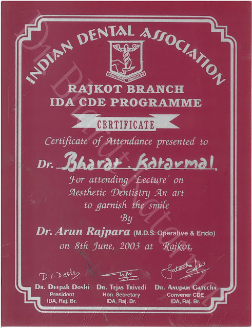 Aesthetic Dentistry An Art to Garnish The Smile by Dr. Arun Rajpara