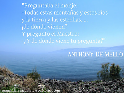 FRASE DE ANTHONY DE MELLO