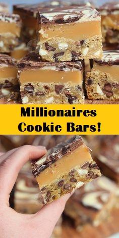 Millionaires Cookie Bars!