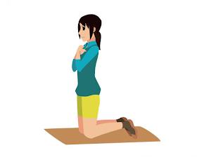 5分鐘跪姿腹式呼吸,燃脂不復胖更勝節食