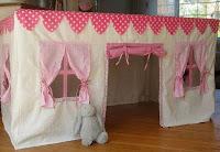 Manteles casitas para niños