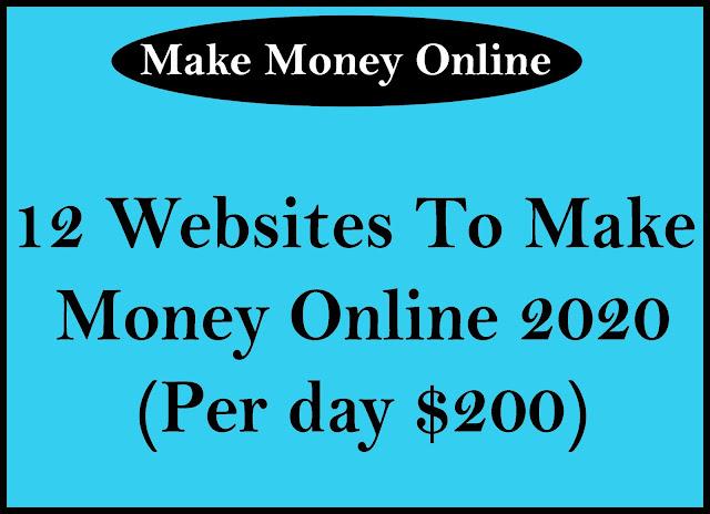 Make Money Online 2020 (Per day $200)
