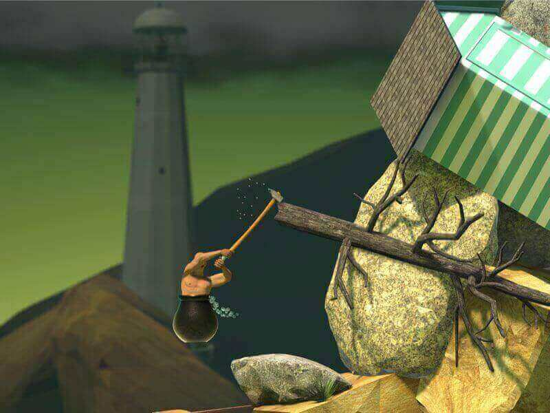Getting Over It Full Map | Getting Over it with Bennett Foddy
