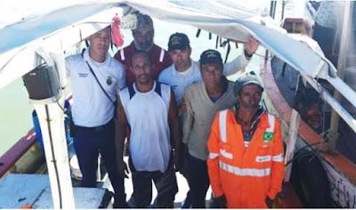 Homens que desapareceram após saírem para pescar em Ilhéus são achados em mar de Itacaré