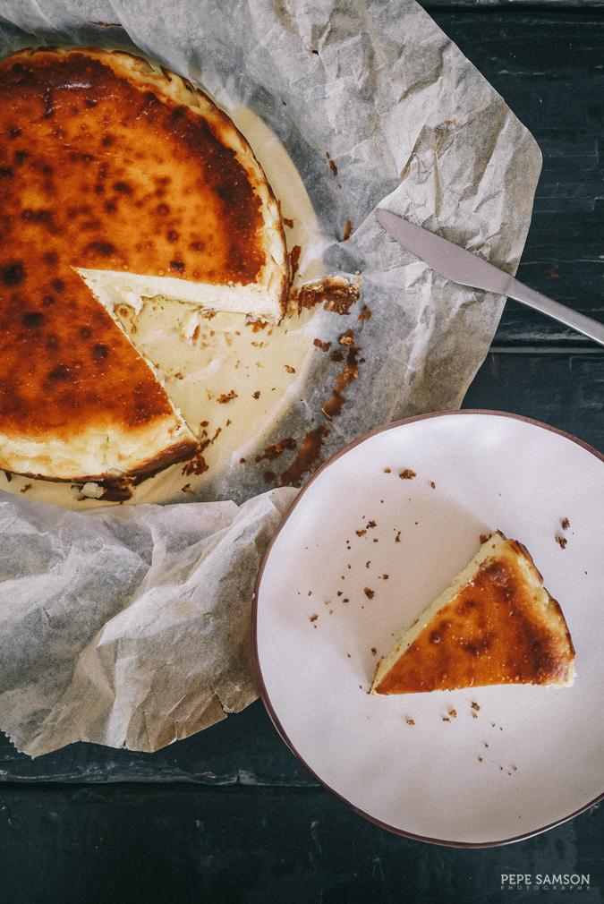 Etxeko Manila basque burnt cheesecake