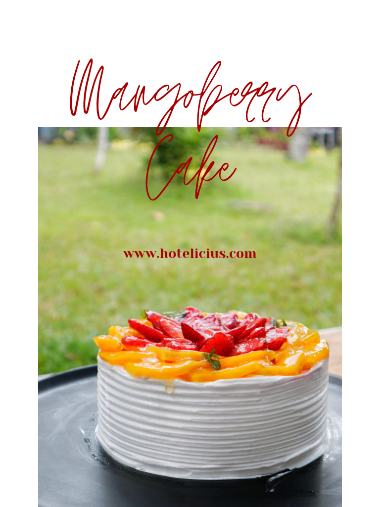 Mango Berry Cake The Best Cake in Town