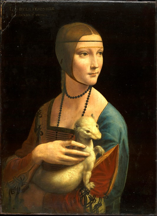 Lady with an Ermine (1490)