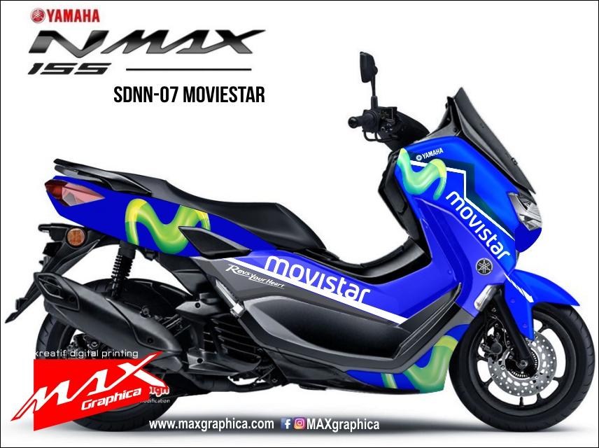 decal sticker new nmax movie star custom desain suka suka