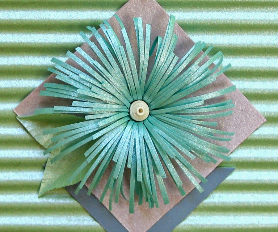 Quilled Asymmetric Flower Tutorial by Ann Martin