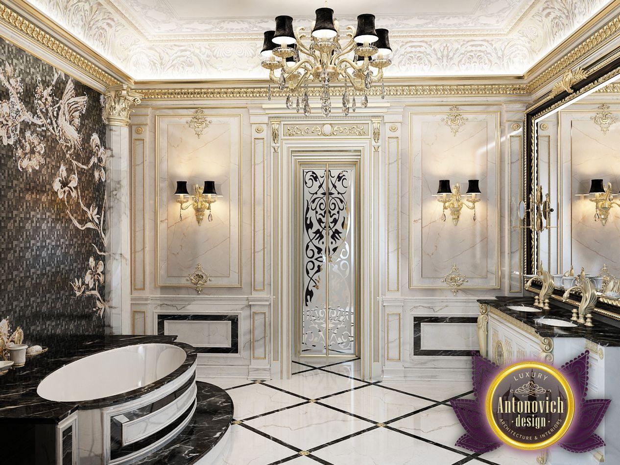 Luxury antonovich design uae bathroom design from luxury for Bathroom design uae