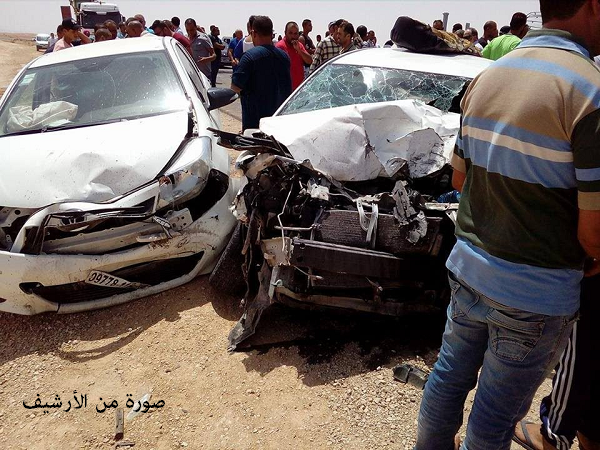 مصرع أربعيني  وإصابة شخصين في حادث مرور مميت بوادي قوسين