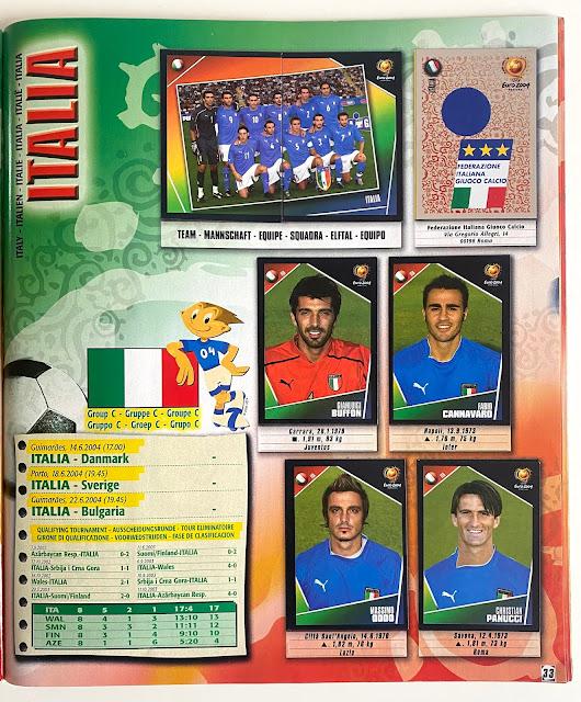 figurine italia euro 2004