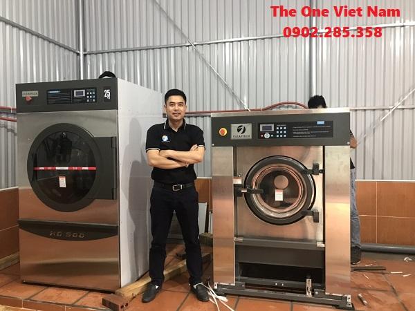 Nhu cầu sử dụng máy giặt của công ty may mặc