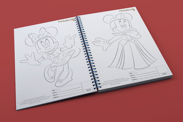 printable minnie mouse template outline coloriage Blank Disney coloring pages book pdf pictures to print out for girls kids to color fun colouring page children toddler