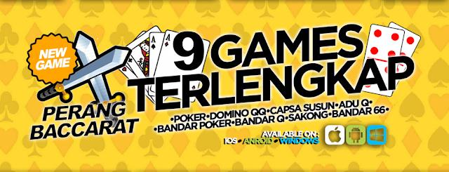 Nikmati 9 Game Sekaligus Di Situs Poker Online FotoQQ!