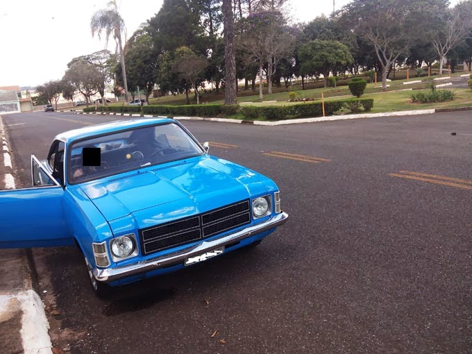 Opala Coupe Rebaixado Turbo Rodas 18""