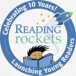 Image result for reading rockets logo