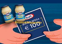 Logo Kraft ''Concorso più buono'': vinci buoni spesa da 100€ o decidi se donarli