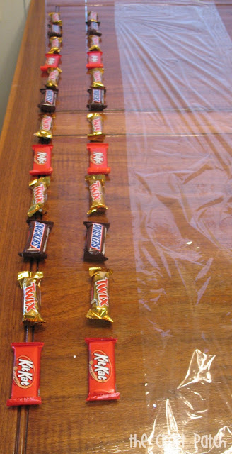 How to make a candy bar lei