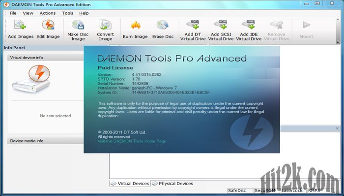 daemon tools pro free download for windows 7 32 bit with crack